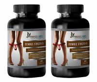 Saw Palmetto Capsules - Female Fantasy 742mg - Fertility Pills 2 Bottles