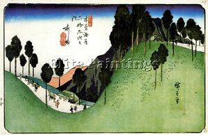 HIROSHIGE-ANDO-Y7-ARTIST-PAINTING-REPRODUCTION-HANDMADE-CANVAS-REPRO-ART-DECO