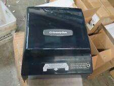 Kimberly Clark 09398 Paper Roll Towel Dispenser 175 Core Gray Transparent