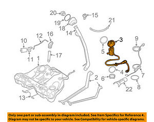image is loading volvo-oem-03-04-s60-fuel-pump-30761742