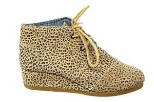 Toms Kala Leopard Print Suede Desert