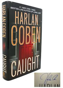 Harlan Coben CAUGHT Signed 1st 4th Edition 1st Printing