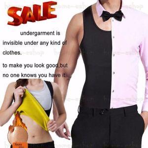 Sweat Sauna Vest Body Shaper Thermo Women Slimming Neoprene Waist Trainer Mens