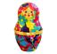miniature 1 - Nesting Doll Shaped Ceramic Trinket Box / Jewelry Keepsake