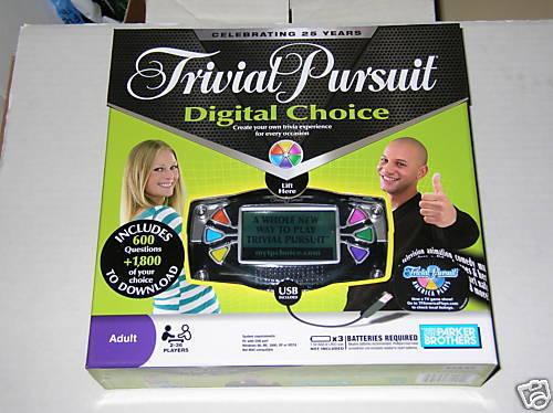 Trivial Pursuit Digital elección Juego Nuevo Sellado