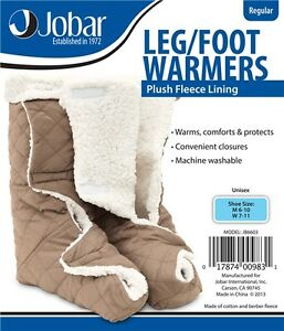 Leg U0026 Foot Warmers Fleece Therapeutic Comfort Protect ...