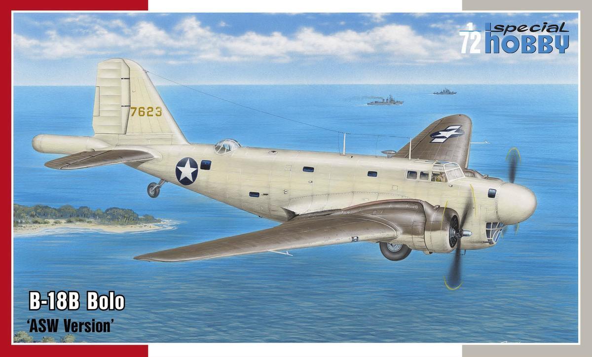 Special Hobby 1 72 Douglas B-18b Bolo ' Asw Vérsion'