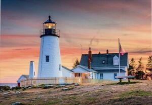 "Puzzle 4000 pieces 136*96cm ""USA. The lighthouse"" Step Puzzle 85412"