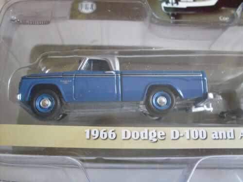 Greenlight 1:64 lim 1966 Dodge D-100 mit Airstream 16´Bambi 32030//A Edition