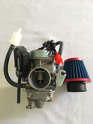 Baja BR150 Reaction Go Kart  Baja DN150 Dune Go Kart Carburtor /& Air Gas Fillter