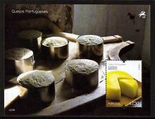 PORTUGAL MNH 2011 PORTUGUESE CHEESES MINISHEET