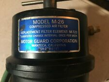 Motor Guard M26 Compressed Air Filter For Plasma Cutter