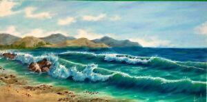 Art100-oil-painting10-034-20-034-ocean-view-art-deco-home-decor-seascape-landscape-surf