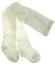 Baby girl tights patterned christening wedding White Pink Cream diamante pattern