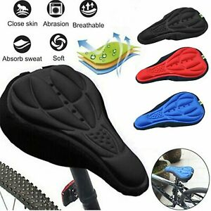 Road Bicycle Saddle Bike Seat Cover Pad Padded Soft Cushion Comfort