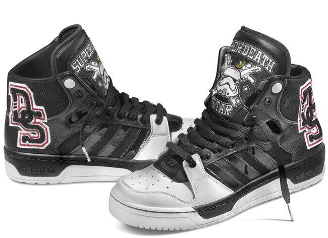Adidas la Originals Star Wars conductor Hi super estrella de la Adidas muerte Stormtrooper Zapatillas 9 8826f8