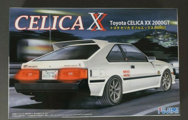 Aoshima 1//24 Scale The Model Car Kit Toyota Celica LB 2000GT RA35 Liftback 37