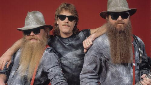 ZZ Top Est 1969 Texas Men/'s T Shirt Rock Music Band Merch