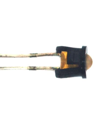 100pc Nylon LED Holder φ3mm 3mm PCL-3H t=1.2mm Black KSS Taiwan