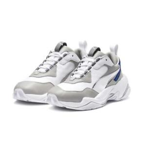 a01922ec6123 Puma Thunder Electric   367998 02 White Gray Violet Women SZ 5 - 12 ...