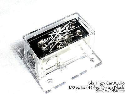 4 ga input 2 Power /& Ground 8 ga Output Split Disto Block SHCA-DB-24 4