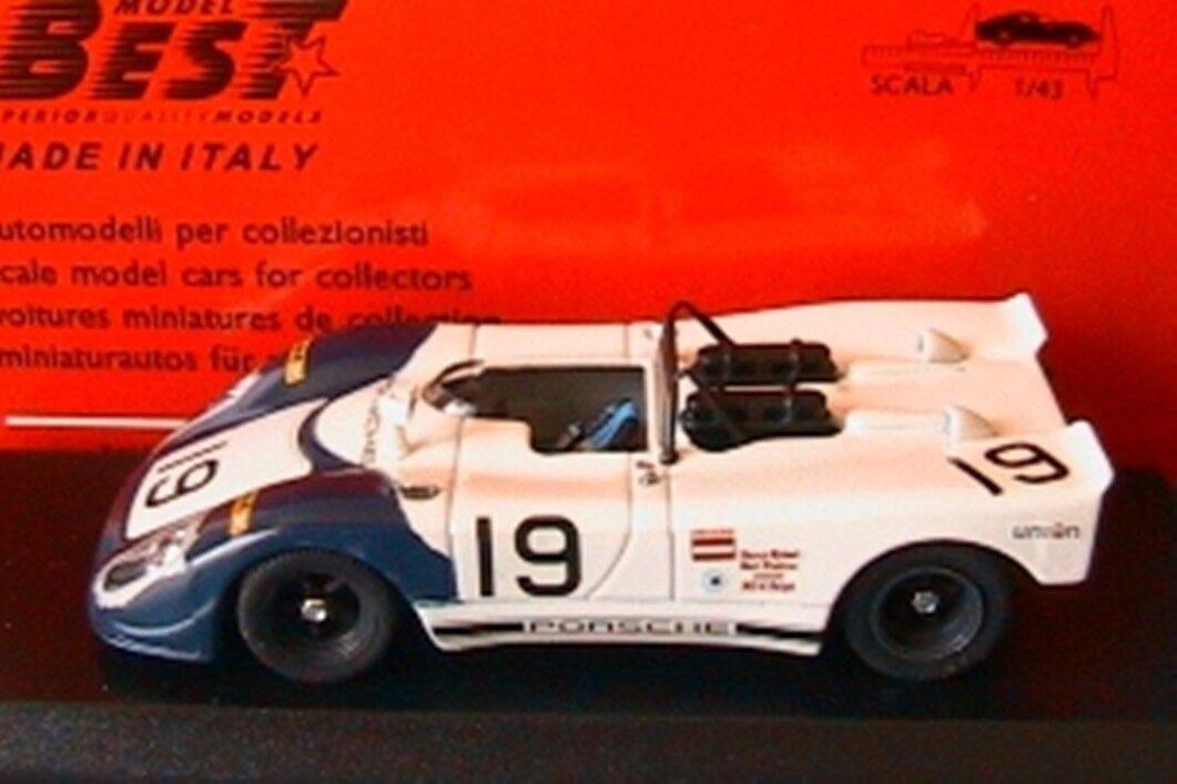 PORSCHE 908  19 FLUNDER DAYTONA 1973 BYTZEK KUCHNE KUCHNE KUCHNE BEST 9169 1 43 MADE IN ITALY 392c38