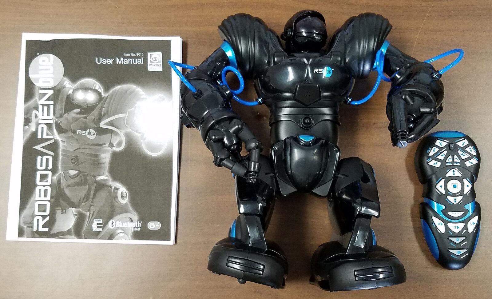 WOWWEE ROBOSAPIEN Blau BlauTOOTH SMART ROBOT - EXCELLENT USED