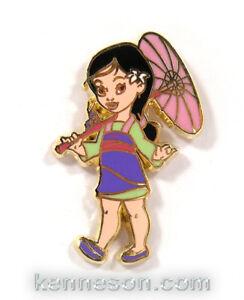 Disney Pin Toddler Princess Mulan
