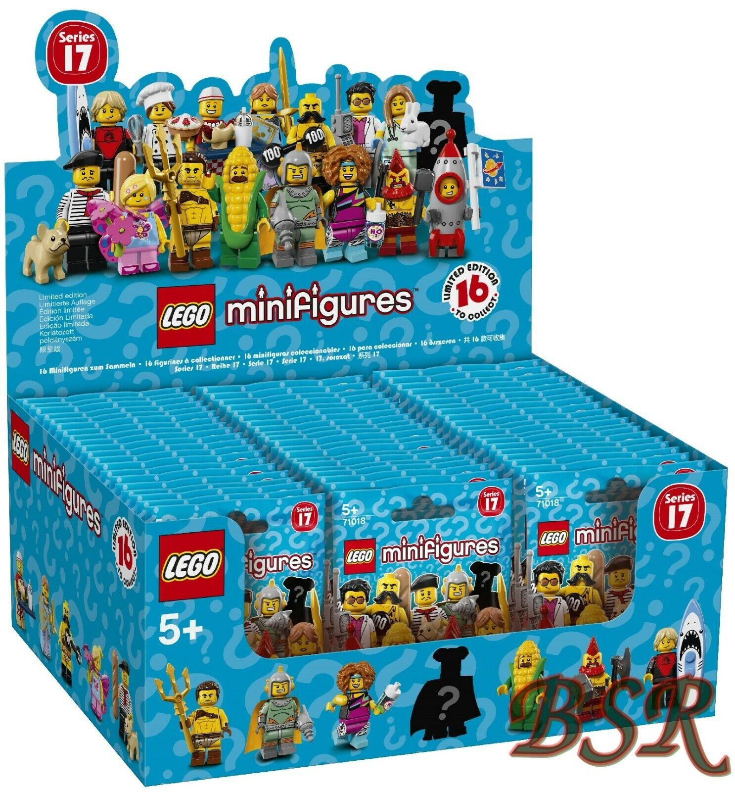 71018 LEGO ® complet scellée Display 60 pochettes série 17 & 0. - livraison NEUF