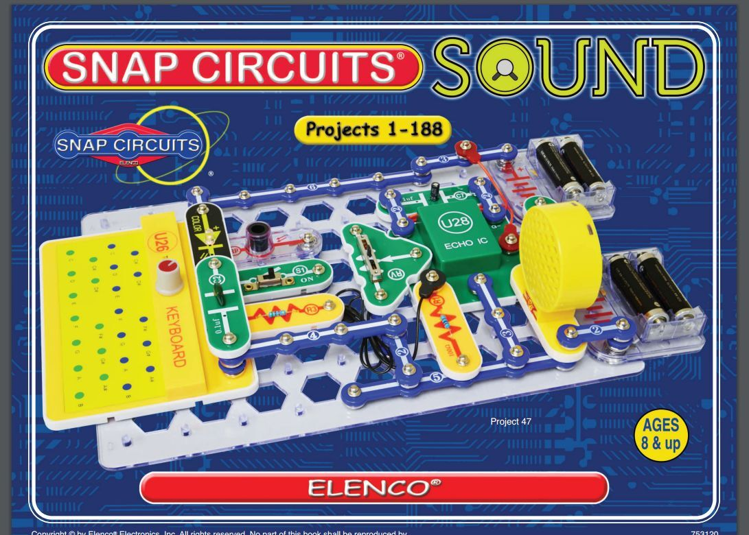 Snap Circuits Part 6scu26 Keyboard Ebay Elenco Electronics Electrical Project Kid Educational Norton Secured Powered By Verisign