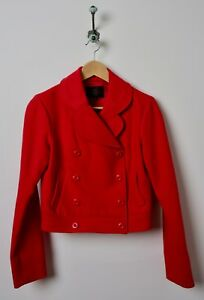 Cropped 2 Tocca Taille Jacket Orange Red hQsrdt