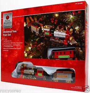 image is loading home accents holiday christmas tree train set 9
