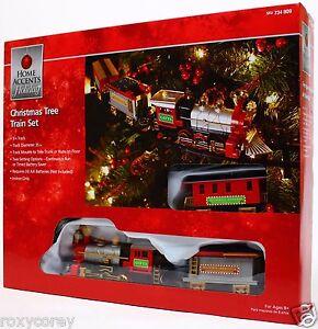 Home Accents Holiday Christmas Tree Train Set 9 ft Track NIB | eBay