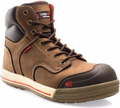 Sizes 6-13 Buckler Largo Bay Safety Work Boots Brown Men/'s Steel Toe Cap