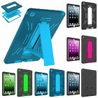 Protective Hybrid Shockproof Hard Case Cover Stand for Apple iPad Mini 2 3 Air