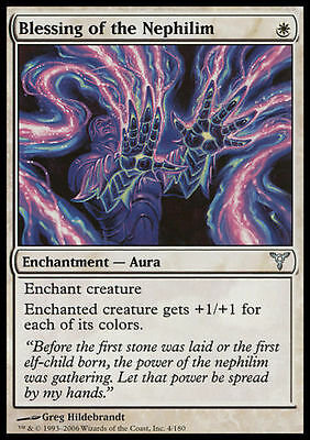 Blessing of the Nephilim x4 Dissension  MtG NM