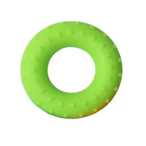 Soft Exercise Donut Shape Silicone Portable Sports Hand Gripper Ring Training