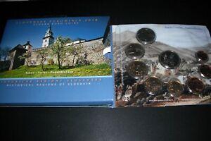 coffret slovaquie bu 2010   8 pieces + medaille