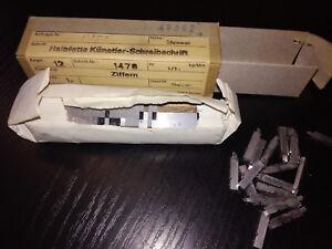 Bleisatz-Handsatz-Letterpress-Bleischrift-Halbfette-Schreibschrift-Ziffern-NEU