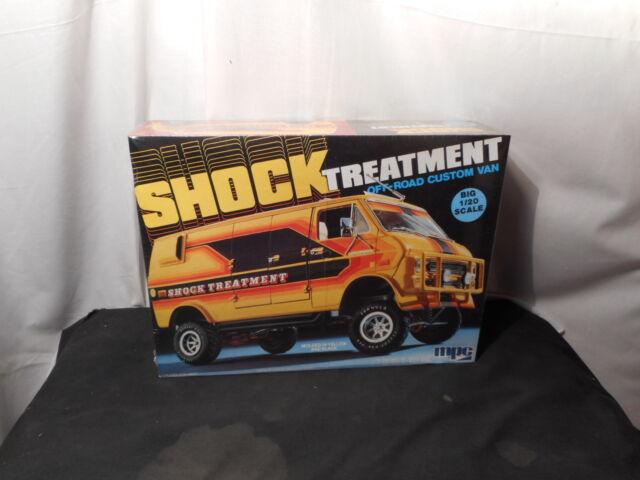 Model Kit Shock Treatment Off Road Custom Van