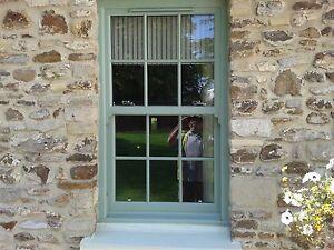 quality design 4df20 2878a Details about UPVC Sash Windows Sliding Sash Chartwell Green woodgrain Any  Size £371 inc VAT