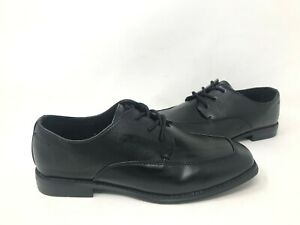 NEW-Sonoma-Youth-Boy-039-s-Alexander-Lace-Up-Dress-Shoes-Black-085870-190AA-tk