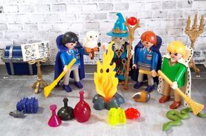 Playmobil #13 Custom Harry Potter Figura DRACO MALFOY con Escoba QUIDDITCH