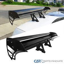 Light Aluminum Adjustable Black Double Deck F1 Sty Rear Spoiler Wing Fits Saturn Aura
