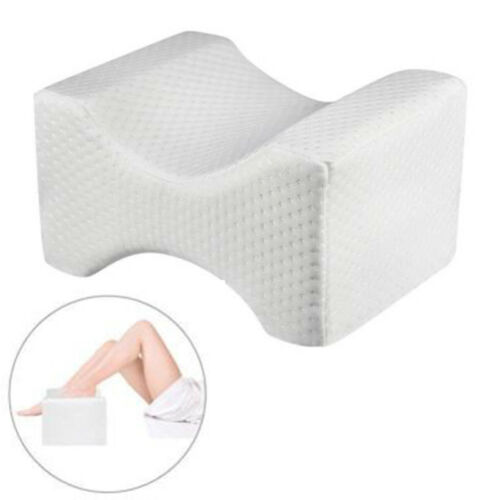 Memory Foam Leg Pillow Orthopedic Firm Back Hips Knee Support Cushion 26*21*15cm