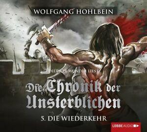 WOLFGANG-HOHLBEIN-DIE-CHRONIK-DER-UNSTERBLICHEN-TEIL-5-DIE-WIEDERKEHR-4-CD-NEW
