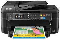 Epson All-in-One Wireless Color Printer with Scanner Copier Fax Wi-Fi Direct NFC