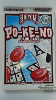 Po-ke-no Board Game Bicycle Ages 6 And Up 2-14 Players