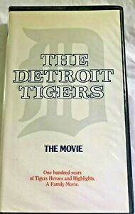 VHS-DETROIT-TIGERS-034-THE-MOVIE-034-100-Years-of-Tigers-Heroes-amp-Highlights-AL-KALINE