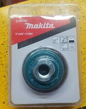 MAKITA D-55192 3 INCH KNOTTED WIRE CUP BRUSH FOR GRINDER